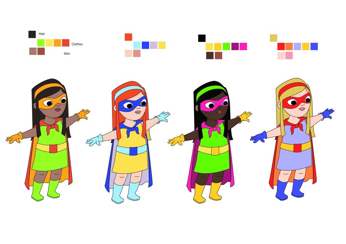 niña_colour tests_colour tests_girl